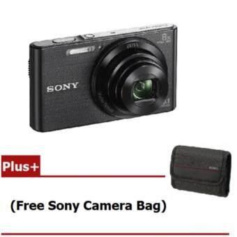 Sony Cyber-Shot DSC-W830/B - Black (Free SD Card 4 GB + Camera Bag