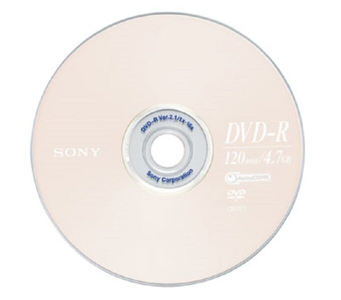 SONY DVD-R 4.7 GB 16x ( 50/PACK)