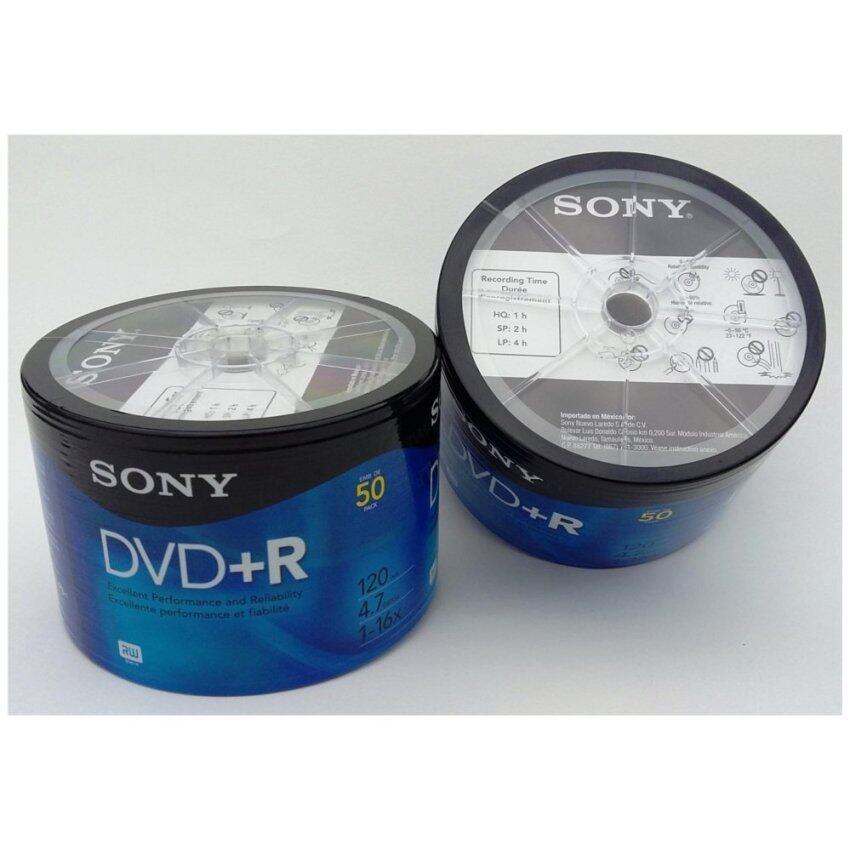 Sony DVD+R 4.7 MB 16X (Pack 50)