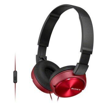 Sony หูฟังแบบครอบหู รุ่น MDRZX310APR (สีแดง) + ไมค์