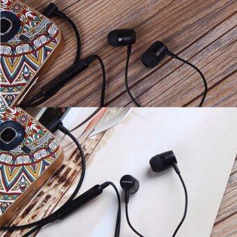 Sonyหูฟังแบบสอดหู รุ่นMH-750 (สีดำ) (Black) - 3