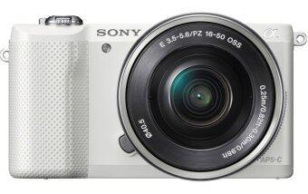 Sony Mirrorless Camera /SEL20 รุ่น ILCE-5100L/W + SEL1650 (แถมฟรี เลนส์รุ่น SEL20F28 + ขาตั้งกล้อง + SD Card)