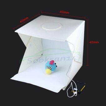 sooksan14 สตูดิโอพับและพกพาถ่ายภาพสินค้าขนาด 15 นิ้ว(40x40cm)