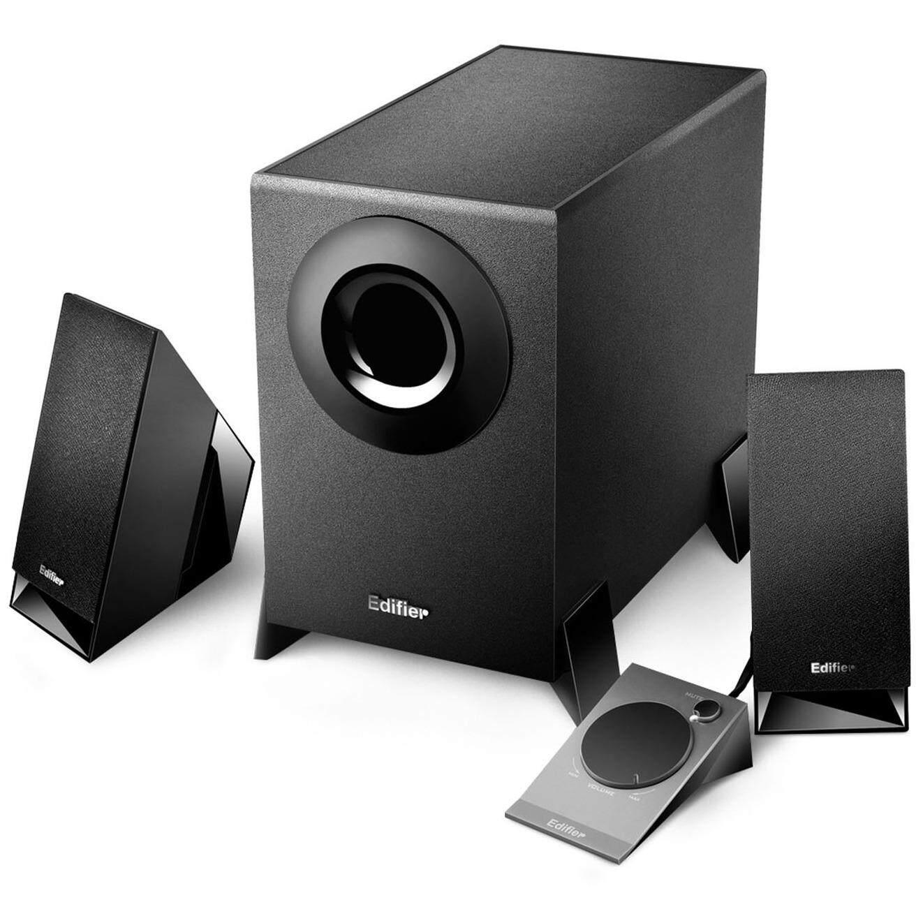 มหาสารคาม Speaker (ลำโพง) Edifier 2.1 CH M1360 (black)
