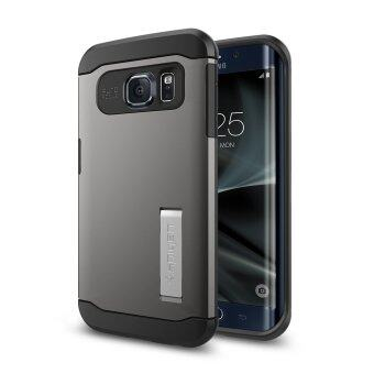 SPIGEN เคส Samsung Galaxy S7 Edge case Slim Armor Gunmetal