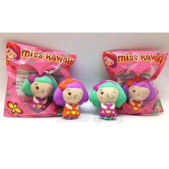Squishy Miss kawaii สกุชชี่ Miss kawaii สีเขียว น่ารัก - 3
