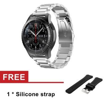 Stainless Steel Watch Band Strap For Samsung Galaxy Gear S3 ClassicSM-R770 S3 Frontier SM-R760 SM-R765 Strap Metal Clasp - intl