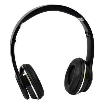 Stereo Wireless Bluetooth Headphone หูฟังบลูทูธ หูฟังไร้สาย หูฟังไอโฟน รุ่น S460 (black) - 2