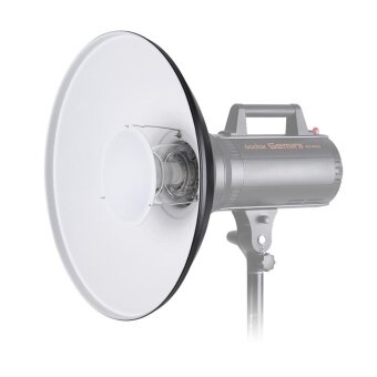 Studio Photography 41cm/16 Inch Speedlite Strobe Lighting Diffuser Beauty Dish Lampshade Bowens Mount with Reflector Honeycomb Soft Cloth - intl - 4