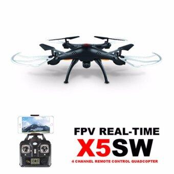 โดรนบินถ่ายภาพทางอากาศ SYMA รุ่น X5SW Wiif FPV Real-time 2.4GQuadCopte