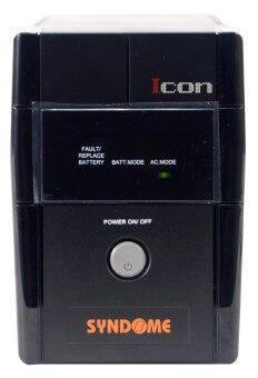 Syndome UPS รุ่น ICON-800 800VA / 320 Watt - black