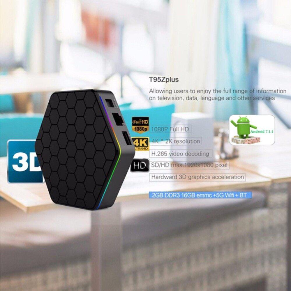 บัตรเครดิต ธนชาต  พะเยา กล่องแอนดรอย รุ่น T95z Plus ทรงสวย สเปคเทพ android 7.1 Ram2GB/Rom16GB CPU Amlogic S912 แบบ OctaCore 8 แกน 64Bit