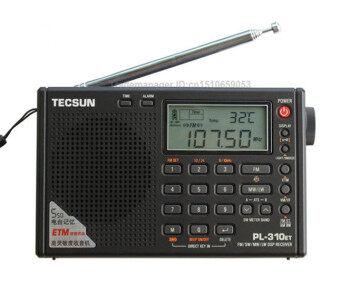 TECSUN PL-310ET โลกเต็มรูปแบบคลื่นสั้นวิทยุ FM AM MW SW LW DSP Receiver ดิจิตอล Demodulation วิทยุสเตอริโอ