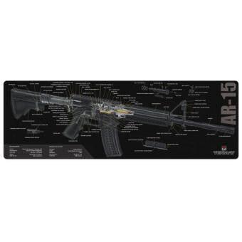 TEKMAT AR-15 3D Cutaway Gun Cleaning Mat แผ่นรองทำความสะอาดปืน