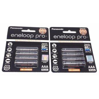 ถ่านชาร์จ Panasonic Eneloop Pro AAA 950 mAh 8 ก้อน ของแท้