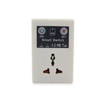 Thaivasion GSM Switch เครื่องควบคุมการปิด-เปิดเครื่องใช้ไฟฟ้า(White)