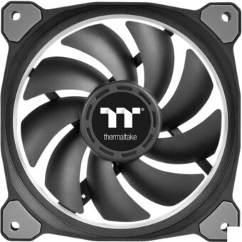 ThermalTake 3pcs 14cm PWM fans Riing Plus 140 RGB and one software controller for computer case - intl