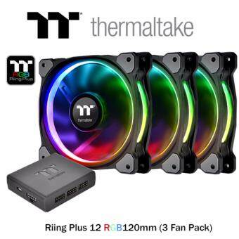 Thermaltake Riing Plus 12 RGB Tt Premium Edition 120mm (3 Fan Pack)