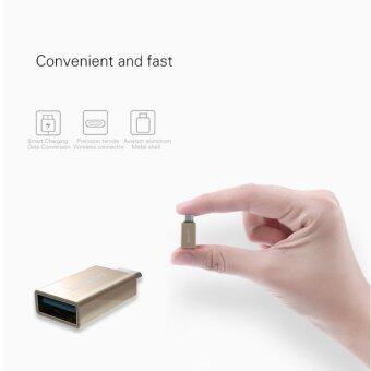 TIB REMAX OTG TYPE-C USB Adapter Mini Double-Sided Fast ChargingData Transmission With U-Disk Transfer Type C To USB 2.0/ 3.0 /3.1
