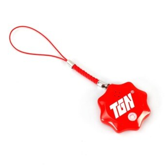 Tigernu Smart Tag Anti Lost Alarm Wireless for Backpack Child Bag Wallet Key Finder GPS Locator Bluetooth Tracker (Red) - intl