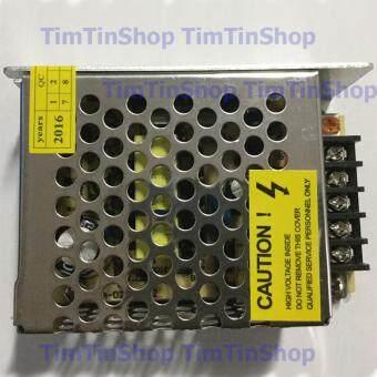เสนอราคา TimTin เพาเวอร์ซัพพลาย ไฟเลี้ยง กระแสตรง แรงดัน 12V กระแส 2A(สีเงิน)