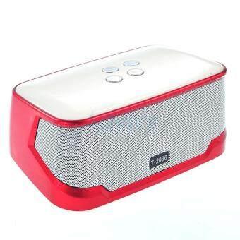 ประเทศไทย TOP Speaker Bluetooth T-2036 (Red)