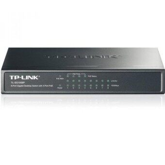 TP-Link 8-Port Gigabit PoE Switch with 55W 4-PoE Ports Plug Play Desktop for IP phone IP camera and Access Points etc. - intl