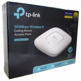 TP-LINK Auranet EAP110 300Mbps Wireless N Ceiling Mount Access Point