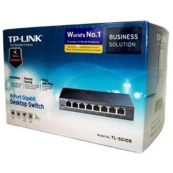 TP-LINK TL-SG108 8-Port Gigabit Desktop Switch