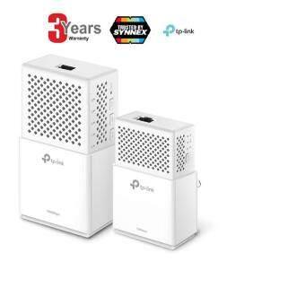 TP-Link TL-WPA7510 KIT AV1000 WLAN AC750 Gigabit PowerlineNetzwerkadapter (Gigabit Ports, ideal für HDTV, energiesparend,Plug und Play, 2er Set) -3 YEARS (BY SYNNEX,TP-LINK SERVICE CENTER)