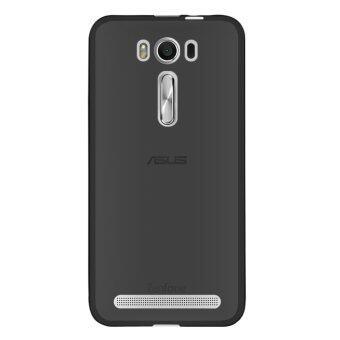 บาง ๆ เคลือบผิวป้องกัน TPU เคสสำหรับ Asus Zenfone 2 เลเซอร์ ZE500KLสีดำ (ต่างประเทศ)