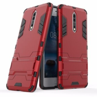 TPU+PC Neo Hybrid Phone Back Cover Case for Nokia 8 - intl