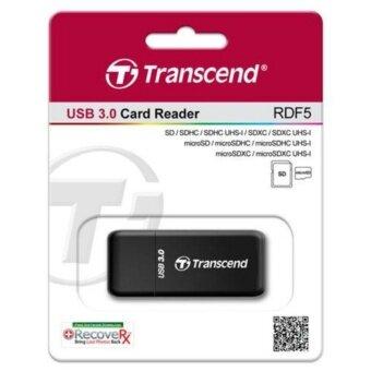 Transcend RDF5 SD & Micro SD USB3.0 Card Reader (Black)