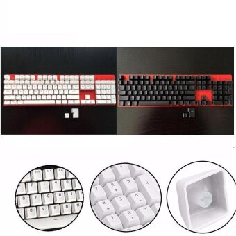 Translucent Doubleshot ABS 106pcs KeyCaps For Cherry MX KeyboardReplace - intl