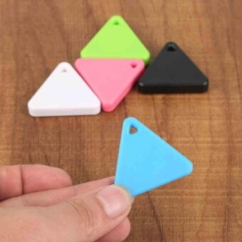 Triangle Smart Mini Bluetooth Tag Tracker Key Wallet FinderTracking Device GPS Locator Alarm Dog Cat Pet Tracker - intl