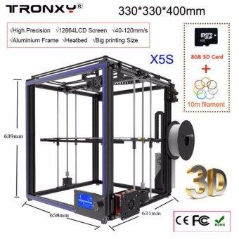 รีวิวพันทิป Tronxy Metal 3D PrinterDIY 3D Printer 3D Printer Kit Print Size330*330*400MSupport 1.75mm PLA/ABS/Wood PLA/Flexible Filament ect