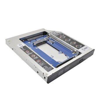 TS-127SATA Notebook 12.7MMSATA Optical Drive MSATA Drive Bays MSATA SSD to SATA Solid State Drive (Silver)