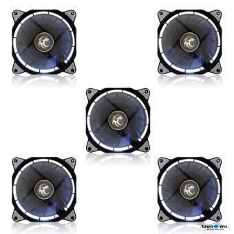 Tsunami Air Series AL-120 LED Halo Light Edition Fan WHITEX5