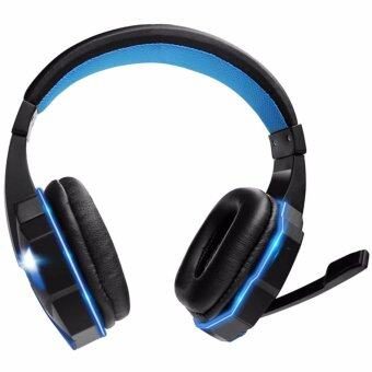 Tsunami Professional Gaming Combo Monster Series Headphones +Keyboard + Mouse 3in1 Kit (Blue/Blue) (image 2)