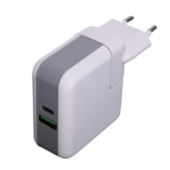 Type-C Power Adapter QC 3.0 for Macbook Switch PD HuaweiMatebook(White)-EU plug - intl