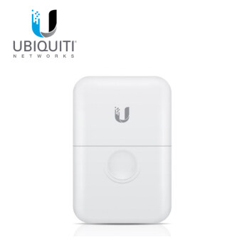 Ubiquiti ETH-SP Ethernet Surge Protector อุปกรณ์ปกป้องระบบเครือข่ายที่เกิดจากฟ้าผ่าผ่านสาย Lan (White)