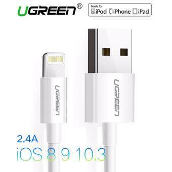UGREEN 1m MFi Certified 8 Pin USB Lightning Cable for iPhone 6/6s/5s/iPad (White)