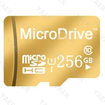 Ultra 256GB 80MB/s C10 microSDXC UHS-I Memory Card with Adapter -intl