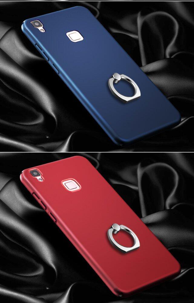 Ultra-dünne matte harte Schale Fallschutz Ring Case Cover For VIVOV3 Max .