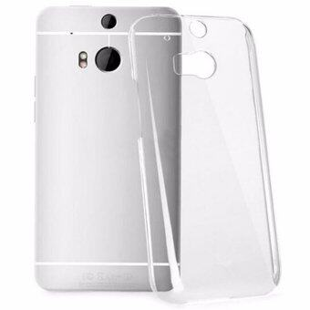 Ultra Thin Crystal Clear Transparent Soft Silicone TPU Phone BackCase For HTC  One (M8) - intl