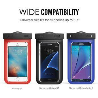 Universal Waterproof Case, Cellphone Dry Bag with Armband NeckStrap for iPhone 7, 7 Plus, 6s, 6, 6s Plus, SE, 5s, Note5, S7 Edge,Xiaomi Note 4 ,Huawei P9,VIVO V5,OPPO F1S, LG BLU Huawei &Other Devices up to 6\