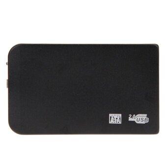จัดโปรโมชั่น USB 2.0 SATA 2.5/// inch HD HDD Hard Disk Drive Enclosure ExternalBox - intl