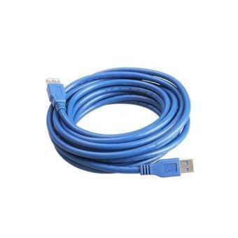 สาย USB 3.0 AM/AF ผู้/เมีย ยาว 3 เมตร High Speed (สีน้ำเงิน)