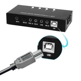 USB 7.1 ช่อง 3D