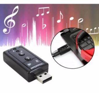 USB การ์ดเสียง ซาวด์การ์ด Audio 3D Sound Virtual 7.1 Channel Card Adapter